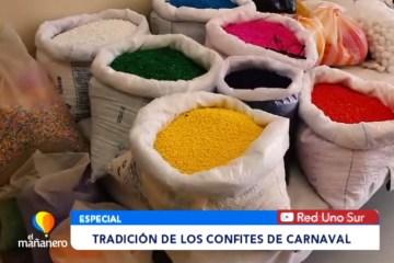 LA TRADICIÓN DE LOS CONFITES DE CARNAVAL