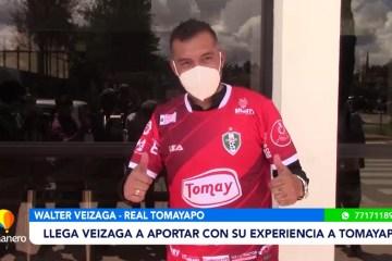 WALTER VEIZAGA SE SUMA A REAL TOMAYAPO