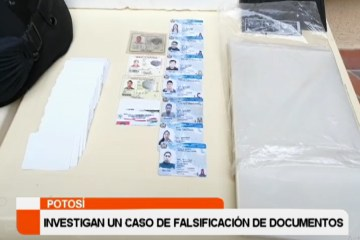 INVESTIGAN UN CASO DE FALSIFICACIÓN DE DOCUMENTOS