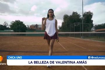 CHICA UNO DE LA SEMANA: VALENTINA AMAS