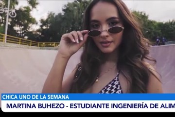 CHICA UNO DE LA SEMANA: MARTINA BUHEZO