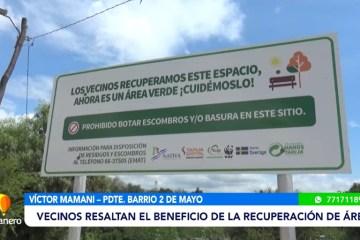 """POSINOTICIA: BASURAL FUE CONVERTIDO EN LA PLAZA """"NATIVA"""""""