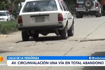 LA AVENIDA CIRCUNVALACIÓN SE ENCUENTRA EN TOTAL ABANDONO