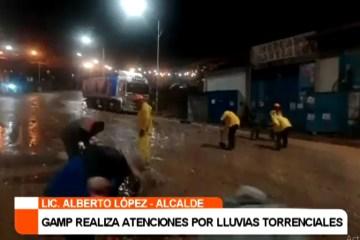 GAMP REALIZA ATENCIONES POR LLUVIAS TORRENCIALES
