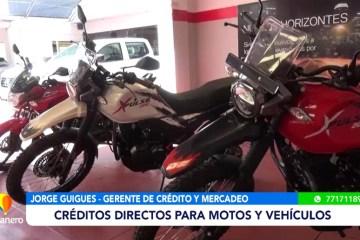 SUR TRADING OFRECE CRÉDITOS DIRECTOS PARA MOTOS Y AUTOMÓVILES