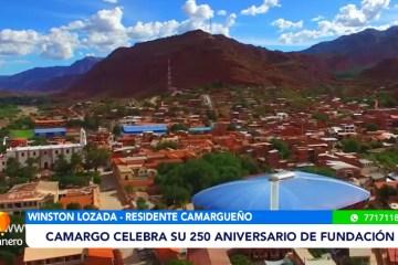 ANIVERSARIO 250 DE LA FUNDACIÓN DE CAMARGO