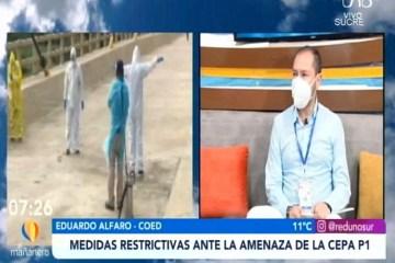TEMA DEL DÍA: MEDIDAS RESTRICTIVAS ANTE LA AMENAZA DE LA CEPA P1
