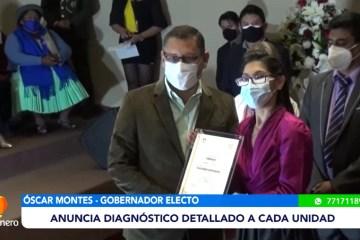 TED ENTREGÓ CREDENCIALES A AUTORIDADES DEPARTAMENTALES ELECTAS