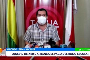EL LUNES 19 DE ABRIL ARRANCA EL PAGO DEL BONO ESCOLAR