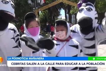 POSINOTICIA: NIÑOS FUERON CEBRITAS POR UN DÍA