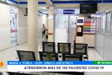 G. OBSTÉTRICO ATENDIÓ A 110 PACIENTES COVID DESDE EL INICIO DE LA PANDEMIA