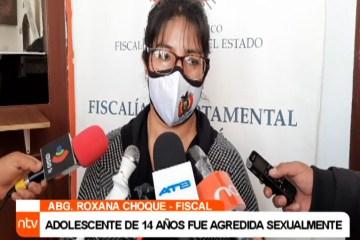 ADOLESCENTE DE 14 AÑOS FUE AGREDIDA SEXUALMENTE