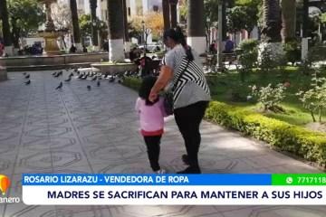 MADRES TRABAJADORAS SACAN ADELANTE A SUS HIJOS