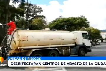 DESINFECTARÁN LOS CENTROS DE ABASTO DE LA CIUDAD