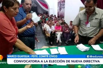 CONVOCATORIA A LA ELECCIÓN DE NUEVA DIRECTIVA