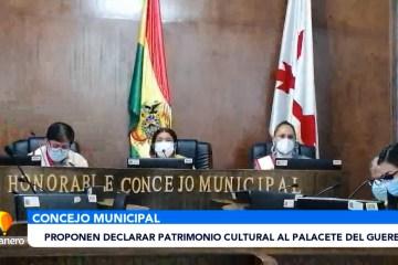 PROPONEN DECLARAR PATRIMONIO CULTURAL AL PALACETE DEL GUEREO