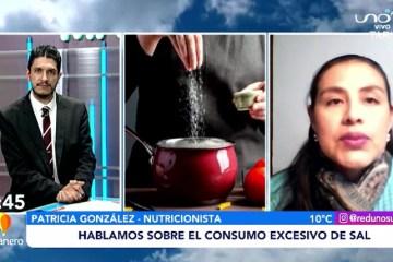 HABLAMOS SOBRE EL CONSUMO EXCESIVO DE SAL