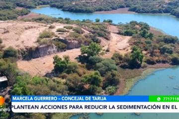 PLANTEAN ACCIONES PARA REDUCIR LA SEDIMENTACIÓN EN EL LAGO SAN JACINTO
