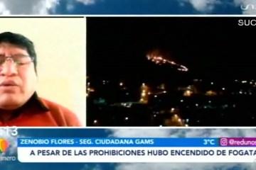 A PESAR DE LAS PROHIBICIONES HUBO ENCENDIDO DE FOGATAS