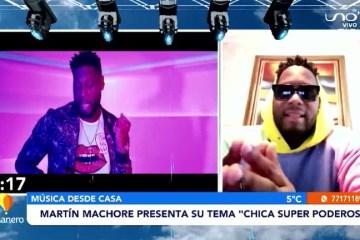 """MARTÍN MACHORE PRESENTA SU TEMA """"CHICA SUPER PODEROSA"""""""
