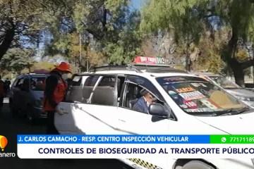 CONTROLES DE BIOSEGURIDAD AL TRANSPORTE PÚBLICO