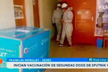 POSINOTICIA: INICIAN VACUNACIÓN DE SEGUNDAS DOSIS DE SPUTNIK V