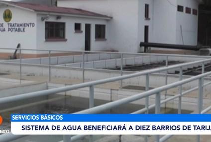 SISTEMA DE AGUA BENEFICIARÁ A DIEZ BARRIO DE TARIJA