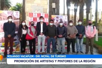 PROMOCIÓN DE ARTISTAS Y PINTORES DE LA REGIÓN