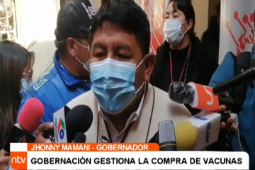GOBERNACIÓN GESTIONA LA COMPRA DE VACUNAS