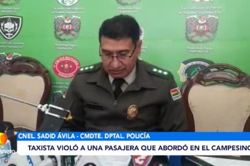 TAXISTA VIOLÓ A UNA PASAJERA QUE ABORDÓ EN EL MERCADO CAMPESINO