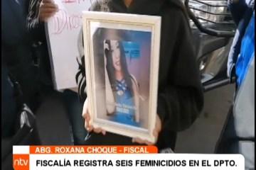 FISCALÍA REGISTRA SEIS FEMINICIDIOS EN POTOSÍ