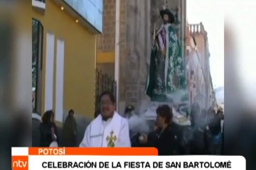 CELEBRACIÓN DE LA FIESTA DE SAN BARTOLOMÉ