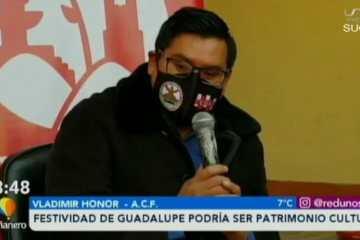 FESTIVIDAD DE GUADALUPE PODRÍA SER PATRIMONIO CULTURAL