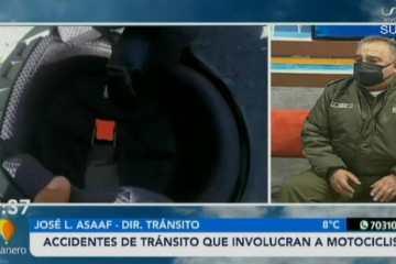 ACCIDENTE DE TRÁNSITO QUE INVOLUCRA A MOTOCICLISTA