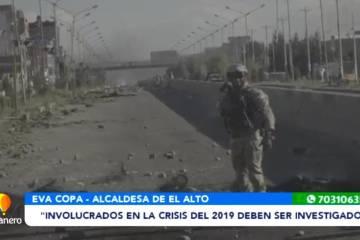"""""""INVOLUCRADOS EN LA CRISIS DEL 2019 DEBEN SER INVESTIGADOS"""""""