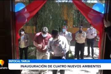 INFOCAL: INAUGURACIÓN DE CUATRO NUEVOS AMBIENTES
