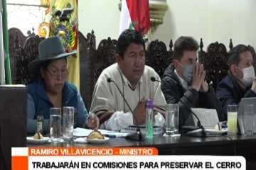 TRABAJARÁN EN COMISIONES PARA PRESERVAR EL CERRO RICO DE POTOSÍ