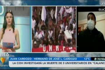 """LA CIDH INVESTIGARÁ LAS MUERTE DE 23 UNIVERSITARIOS EN """"CALANCHA"""""""