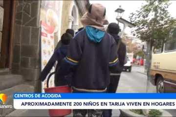 APROXIMADAMENTE 200 NIÑOS EN TARIJA VIVEN EN HOGARES