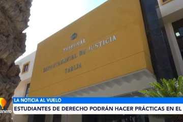 ESTUDIANTES DE DERECHO PODRÁN HACER PRÁCTICAS EN EL TDJ