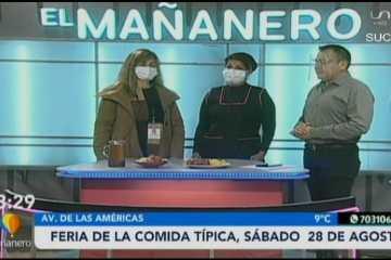 FERIA DE LA COMIDA TÍPICA, SE REALIZARÁ ESTE SÁBADO 28 DE AGOSTO