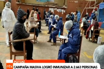CAMPAÑA MASIVA LOGRÓ INMUNIZAR A 2.663 PERSONAS
