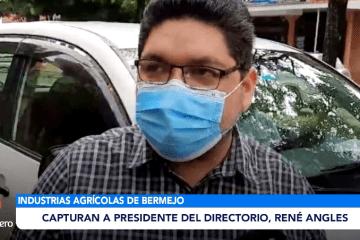 CAPTURAN AL PRESIDENTE DEL DIRECTORIO, RENE ANGLES