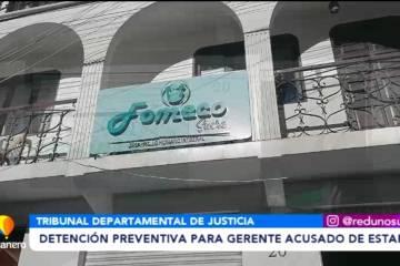 DETENCIÓN PREVENTIVA PARA GERENTE ACUSADO DE ESTAFA