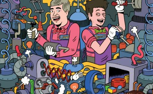 Sergey Brin y Larry Page, dispuestos a incursionar en el mercado del hardware con el poder combinado de Google y Motorola Mobility.