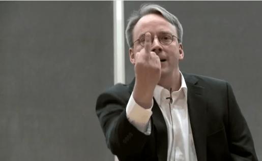 Torvalds, molesto por la actitud de Nvidia.