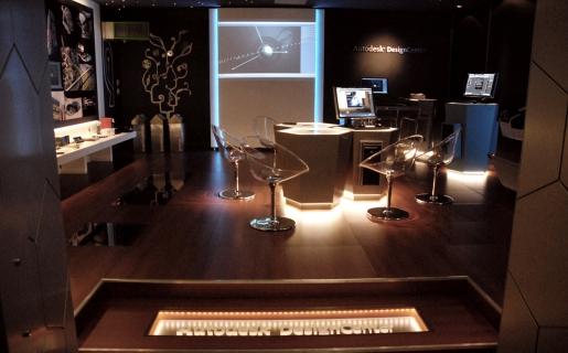 El ambiente distendido del Autodesk Design Center es óptimo para que se relacionen los profesionales del diseño.