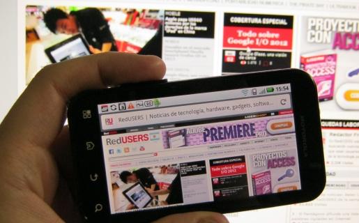 Internet Móvil es la funcionalidad más valorada por los usuarios de smartphones.