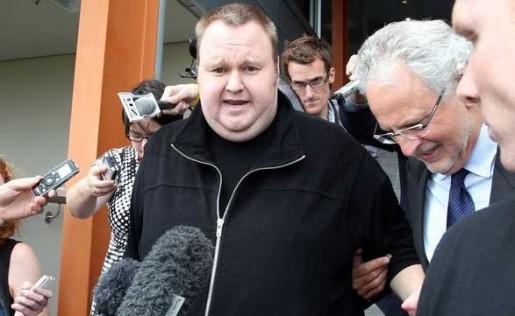 El fundador de MegaUpload se encuentra libertad condicional esperando el fallo sobre su extradición