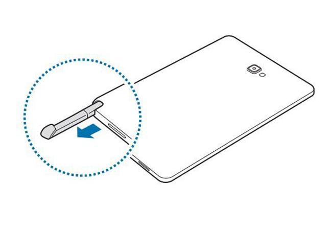 Manual filtrado revela nueva tablet de Samsung con soporte